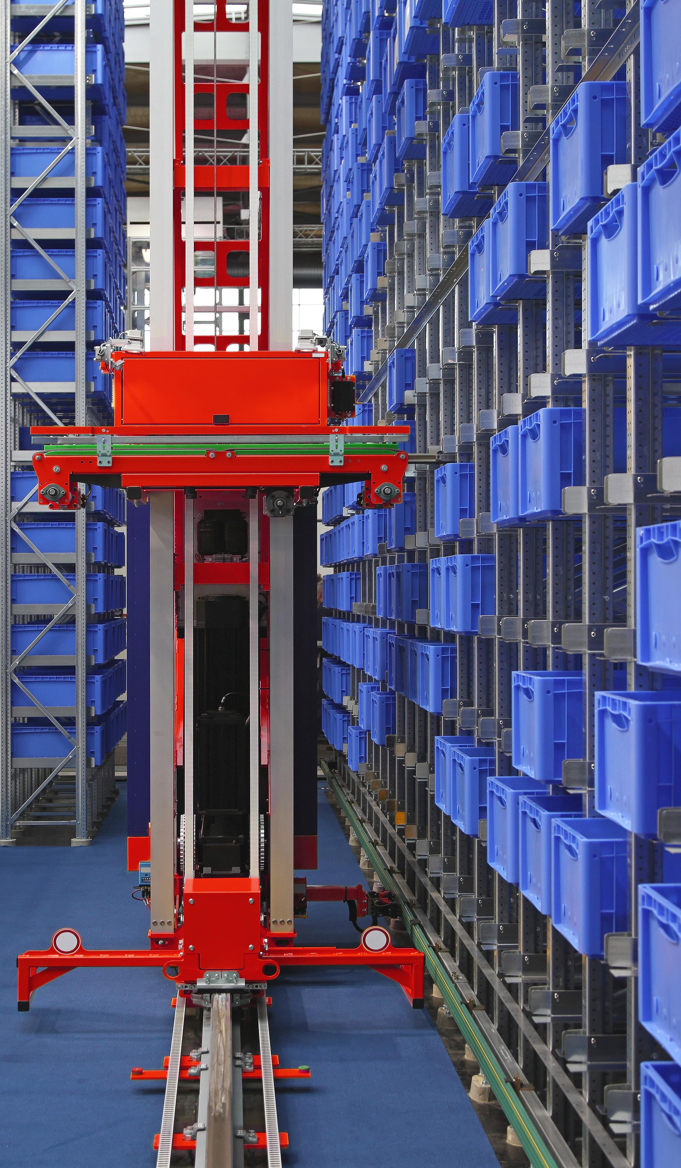 Almacen Automatizado para cajas y contenedores