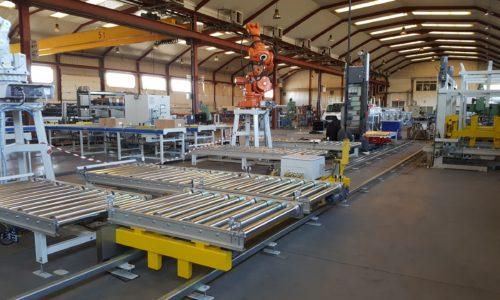 Interior de la fábrica de CONVEY SYSTEMS